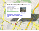 Google Map Walts Chicken